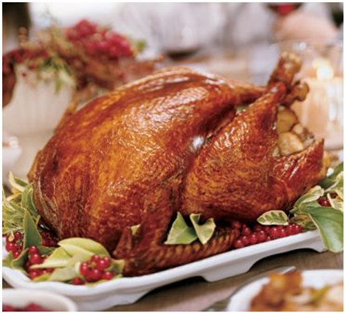 Red Wine Cranberry Turkey - Christmas Delivery
