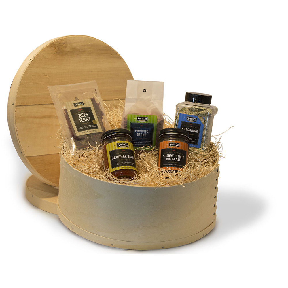 Handmade Round Wooden Box