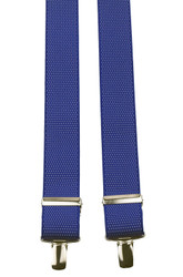 Blue Dotted Braces