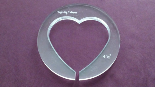 Heart, 4-1/2 inch