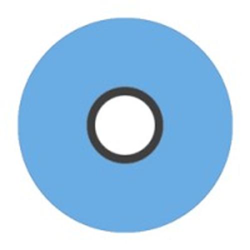 Magna-Glide 'M' Bobbins, Jar of 10, 30284 Hawaiian Blue