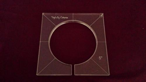 Inside Circle Template, 5 inch diameter