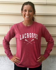Lacrosse EST Red Long Sleeve