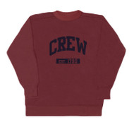 Crew crew neck red sweat shirt