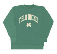 Crew neck field hockey clover
