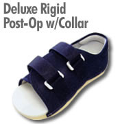 Deluxe Rigid Post-Op Shoe With Collar