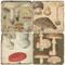 Mushroom Coaster Set.  Handmade Marble Giftware by Studio Vertu.