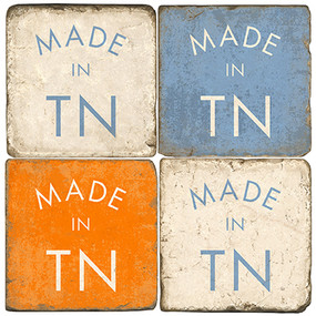 Made in Tennessee Coater Set. Hand Made Marble Giftware by Studio Vertu.