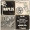 Black & White Naples, Florida Coaster Set. Handcrafted Marble Giftware by Studio Vertu.