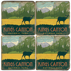 Kings Canyon National Park. Handcrafted Marble Giftware by Studio Vertu.