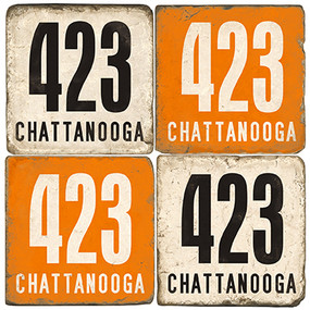 Tennessee Area Code 423 Coaster Set