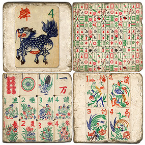 Chinese Game Coaster Set