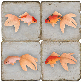 Goldfish Coaster Set