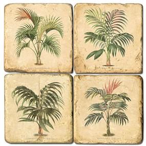 Small Palms Coaster Set