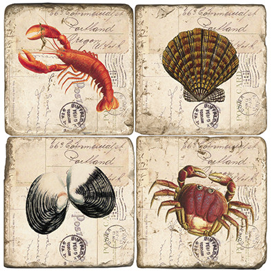 Sea Life Coaster Set