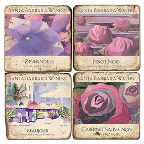 Santa Barbara Winery Coaster Set