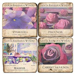 Santa Barbara Winery Coaster Set