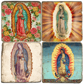 Virgin of Guadalupe I Coaster Set