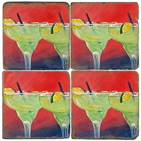 Margarita Sunset Coaster Set