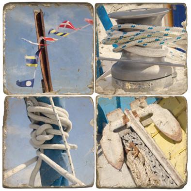 Sailing Themed Coaster Set