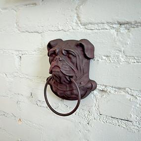 Wall Mounted Cast Iron Bulldog Head
