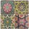 Colorful Persian Tiles Coaster Set
