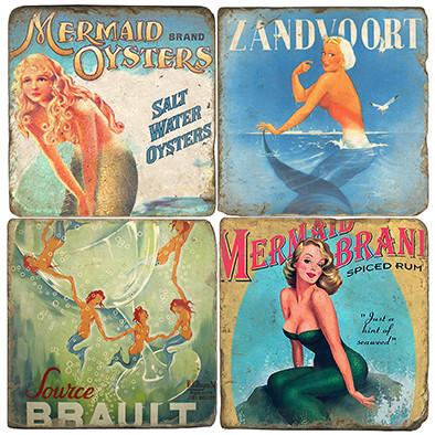Mermaid Coaster Set