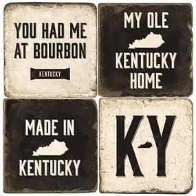 Kentucky Themed Coaster Set