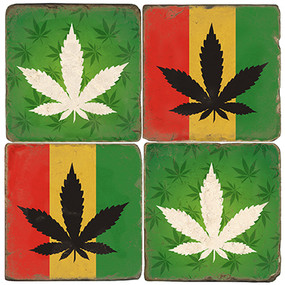 Rasta Coaster Set