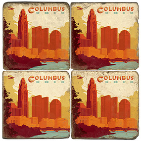 Columbus Ohio Coaster Set