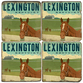 Lexington, Kentucky Coaster Set