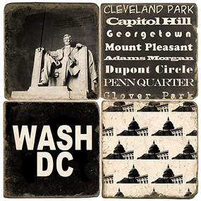 Washington DC Coaster Set