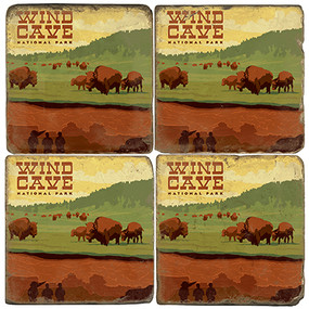 Wind Cave National Park. License artwork by Anderson Design Group.
