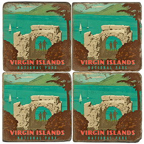 Virgin Islands National Park. License artwork by Anderson Design Group.