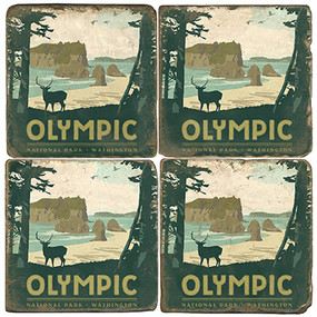 Olympic National Park. License artwork by Anderson Design Group.