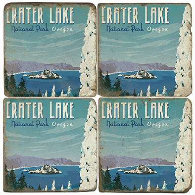 Crater Lake National Park. License artwork by Anderson Design Group.