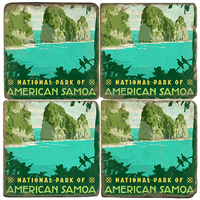 American Samoa National Park. License artwork by Anderson Design Group.