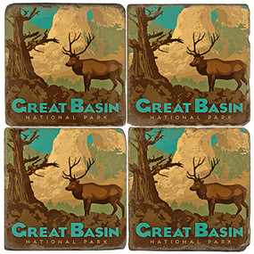 Great Basin National Park. License artwork by Anderson Design Group.
