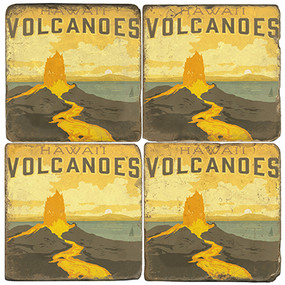Hawaii Volcanoes National Park. License artwork by Anderson Design Group.