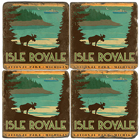 Isle Royale National Park. License artwork by Anderson Design Group.