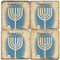 Passover inspired Coaster Set. Hand Made Marble Giftware by Studio Vertu.