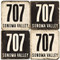 Sonoma Area Code 707 Coaster Set.