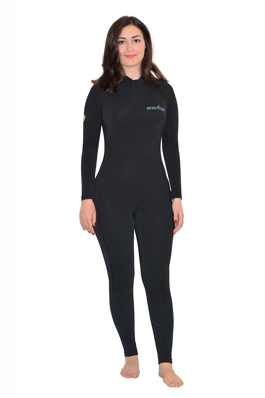 ladies full body surfing swimsuit sun protection swimwear