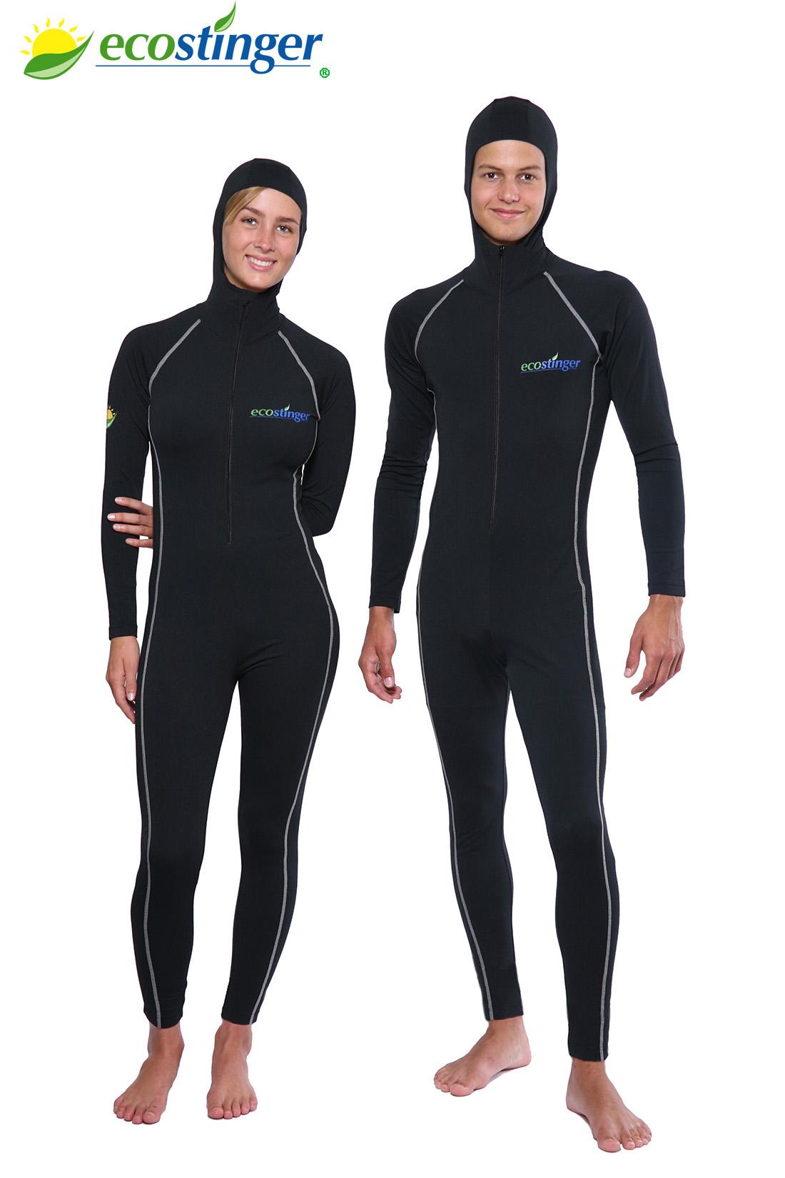 women and men kayaking swimsuits sun protective swimwear