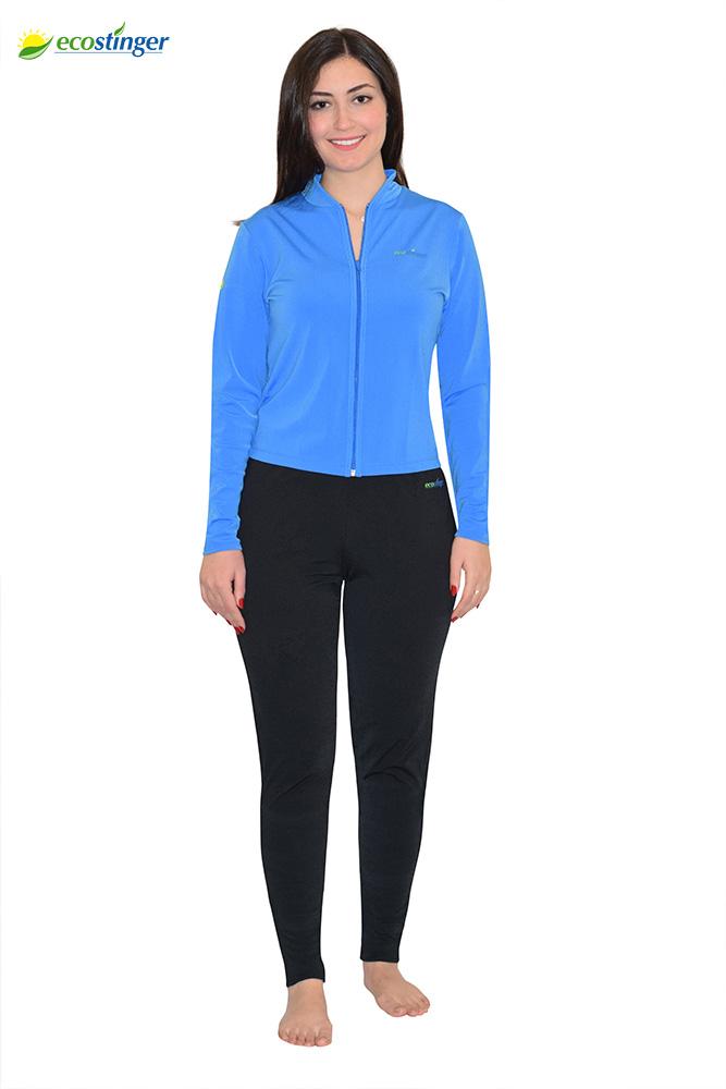 women uv protection clothing jacket and leggings set