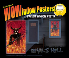 devils hell poster in a house