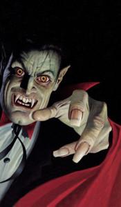 Vampire Halloween Window Decoration