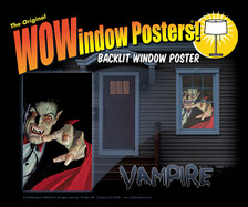 vampire as seen in a house