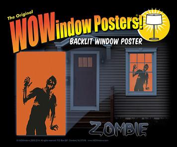 Zombie Silhouette Series