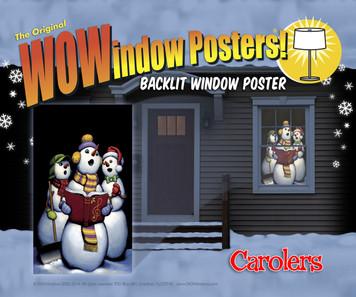 Carolers Singing Snowmen